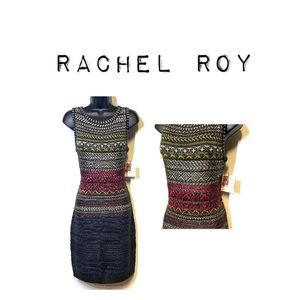 NWT Rachel Roy wool blend sweater dress